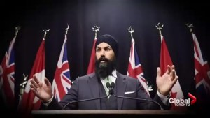 MPP Jagmeet Singh announces federal NDP leadership bid