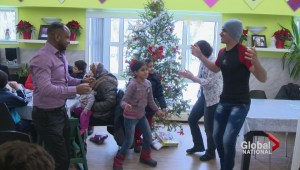 Newcomers spend first Christmas in Canada