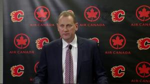 RAW: Calgary Flames announce new head coach Glen Gulutzan