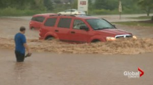 Burlington residents pump, vacuum and dig out of mess left by Monday flood
