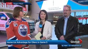 Edmonton Oilers fan rally taking over Churchill Square today