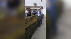 Gun discharged as off-duty LA officer clashes with 13-year-old
