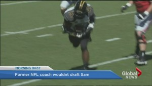 Ex-NFL coach says he wouldn't have drafted Michael Sam