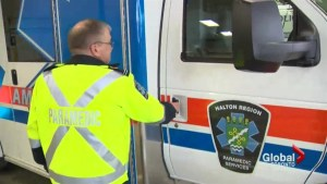 Halton Paramedics deal with spike in flu