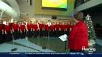 The Toronto Children's Chorus joins the show ahead of its performance at Roy Thomson Hall