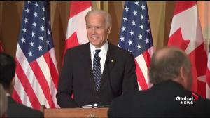 'I remember those days I used to be eye-candy': Joe Biden responds to Justin Trudeau joke