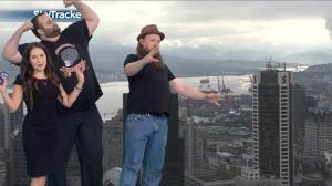 Yvonne's weather forecast with Vancouver's top comics