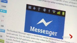 Facebook Messenger: Licence to listen, text, take video