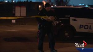 Police investigate after person shot in legs in west Edmonton