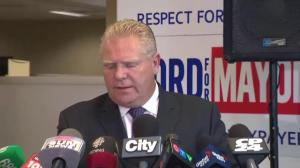Doug Ford says he isn't resorting to name calling