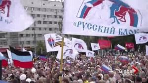 Pro-Russian rebels in Eastern Ukraine as Moskow for help