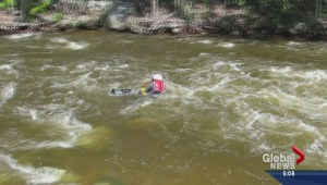 Professionals prepared for creek rescue missions in Kelowna