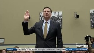 FBI Director in the hot seat