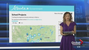 Alberta school projects' progress
