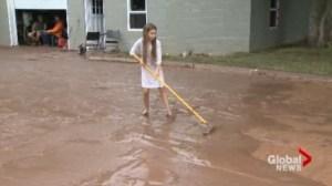Neighbours help ease the burden following Burlington flash floods