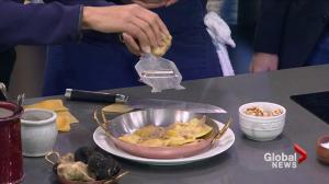 CinCin Ristorante's Fire Cooked Squash Ravioli