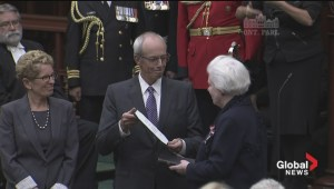 Elizabeth Dowdeswell sworn in as Ontario lieutenant-governor