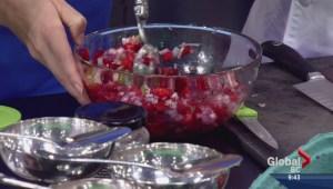 Cooking 101: Strawberry Ice Cream and Strawberry Avocado Salsa