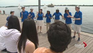 Singing Ambassadors along Toronto's waterfront