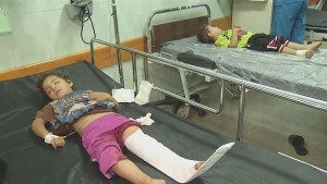 15 dead and dozens wounded after UN school in Gaza hit