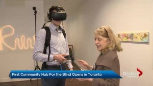 CNIB launches Community Hub in midtown Toronto breaking down barriers