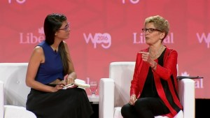 """You bump up against rules you didn't know where there"" being a woman in politics: Wynne"