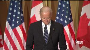 Joe Biden discusses his personal connections to Canada