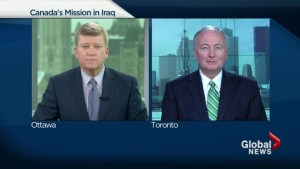 Foreign Affairs Minister Rob Nicholson on Canada's Mission in Iraq.