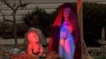 Zombie Nativity scene causing controversy
