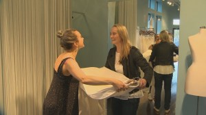 Fort McMurray bride-to-be who lost dress in wildfire finds replacement in Toronto