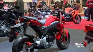 Discovering Montreal's motorcycle show
