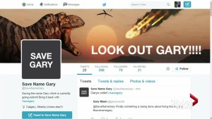 Calgary man launches @SaveNameGary account, fears extinction