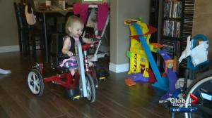 Edmonton toddler Eva Moore in remission