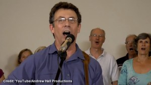 "Environment Canada scientist placed on leave for ""Harperman"" song"