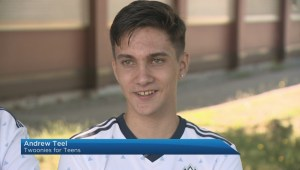 Teen fundraiser honoured by Vancouver Whitecaps