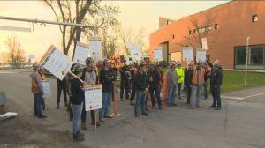 Quebec construction workers begin general strike