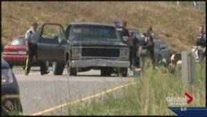 Two involved in Westside Road shootout sentenced