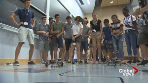 Students across Canada brought to Fredericton for national program, robotics competition