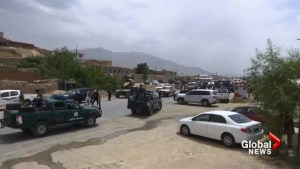 At least 30 Afghan trainee police killed in suicide bomb attack