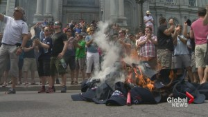 Quebec pension protests heat up