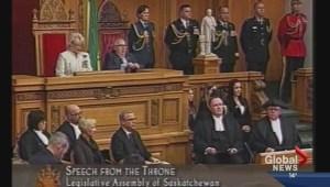 Fall session begins in Saskatchewan Legislature