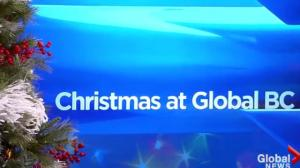 It's Christmas time! A holiday rap from Global BC