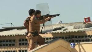 Raw video: Deadly prison riot in Brazil