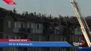 Clareview condo fire update