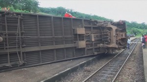 At least 53 dead, over 300 injured in train derailment in Cameroon