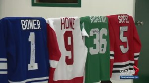 Outpouring of support after Gordie Howe jersey stolen in Asquith, Sask.