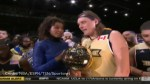 Arcade Fire frontman Win Butler gets cut off after winning MVP award