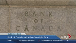 BIV: Bank of Canada maintains overnight rate
