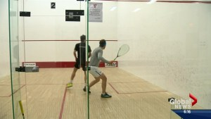 World's best squash players in Saskatoon for Movember