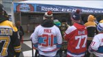 Perfect conditions for NHL's outdoor classic